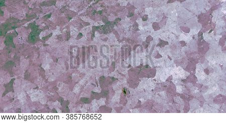 Camo Texture Background. Watercolor Camouflage Uniform. Green Military Fabric. Modern Woodland Desig