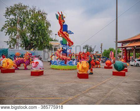 Udon Thani/thailand-11 Dec 2017:san Chao Pu Ya Shrine Foundation At Udon Thani City Thailand.san Cha