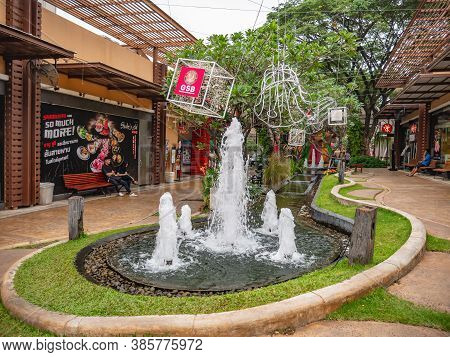 Udon Thani/thailand-11 Dec 2017:unacquainted People  In Ud Town Community Mall  At Udon Thani City T