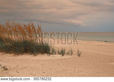 Gulf Coast At Dusk