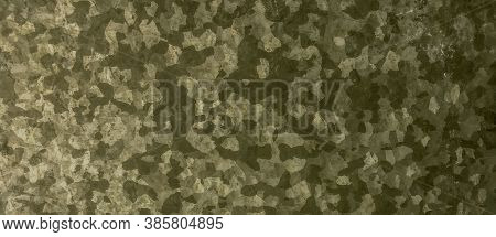 Khaki Texture Background. Watercolour Camo Material. Dark Military Pattern. Vintage Commando Design.