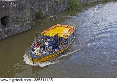Bristol, Uk - May 26, 2015: The Ferry Boat Brigantia On The Floating Harbour