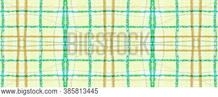 Yellow Plaid Pattern. Seamless Check Texture. Gingham Tile. Rustic English Flannel. Fall Plaid Patte