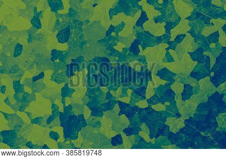 Watercolor Marine Camo. Blue Army Texture. Camouflage Background. Vintage Soldier Shirt. Marine Camo