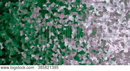 Camo Texture Background. Watercolour Camouflage Uniform. Dark Army Textile. Abstract Commando Design