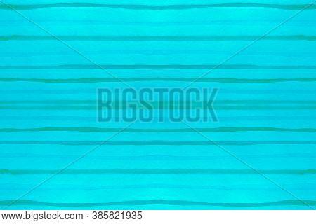 Watercolour Stripes Texture. Seamless Drawn Stroke Background. Blue Trendy Brushstroke Geometry. Str
