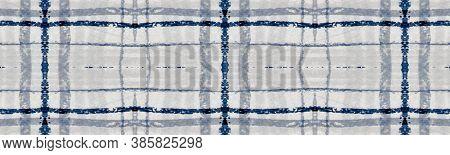 Gray Square Picnic. Seamless Textured Twill. Scottish Check Fabric. Fashion Trendy Blanket. Square P