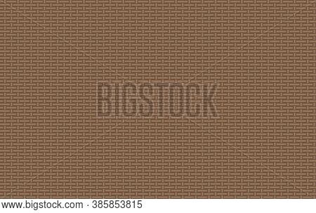 Vector Seamless Pattern, Straw Binding Background, Lights Brown Color, Wicker Texture, Graphic Backd