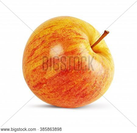 Red Apple Isolated On White Background. Clipping Path