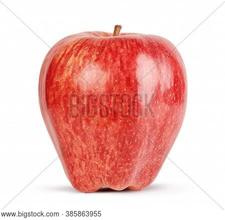 Red Apple Isolate On White Background. Clipping Path