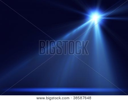 concert lighting against a dark background ilustration