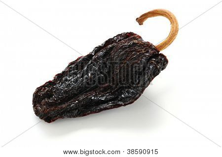 chile ancho, mexican dried chili pepper poster