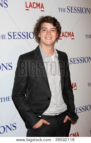 LOS ANGELES - OCT 10:  Israel Broussard arrives at the