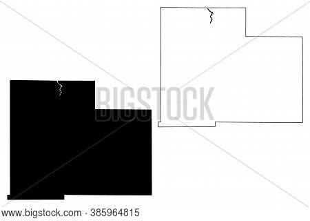 Olmsted County, Minnesota (u.s. County, United States Of America, Usa, U.s., Us) Map Vector Illustra