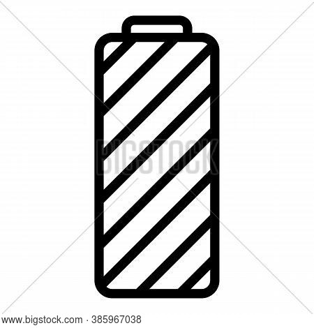 Full Lithium Battery Icon. Outline Full Lithium Battery Vector Icon For Web Design Isolated On White
