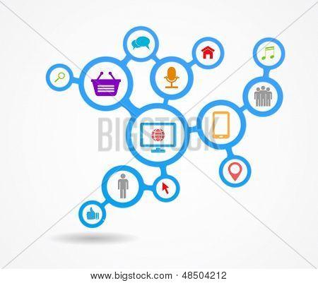 poster of social media network