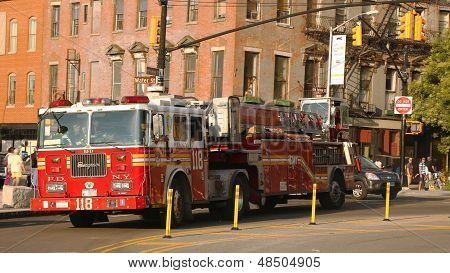 FDNY Ladder Company 118  in Brooklyn