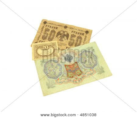 Old Russian Money.