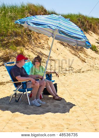 Cape Cod  Beach Couple