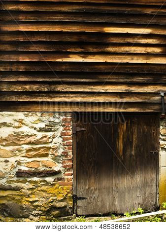 Weathered Barn In Vermont