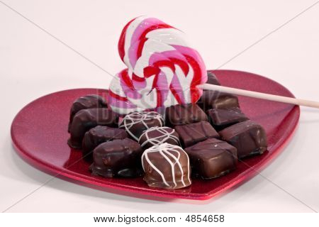 Valentine's Day Sweets Plate