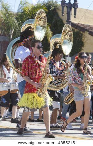 Doo Dah Parade High School Marching Band