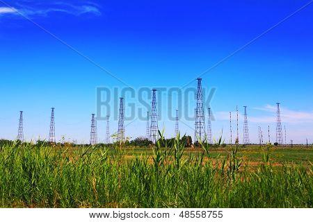Radio masts