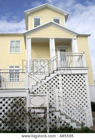 Beach House Yellow