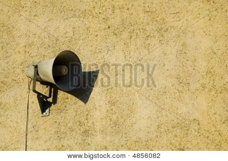 Speaker On The Wall