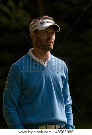 SAINT-OMER, FRANCE. 16-06-2010, Raphael JACQUELIN (FRA) at the European Tour, 14th Open de Saint-Omer, part of the Race to Dubai tournament and played at the AA Saint-Omer Golf Club .