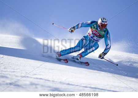 SOELDEN AUSTRIA OCT 26, Aksel Lund SVINDAL NOR  competing in the mens giant slalom race at the Rettenbach Glacier Soelden Austria, the opening race of the 2008/09 Audi FIS Alpine Ski World Cup