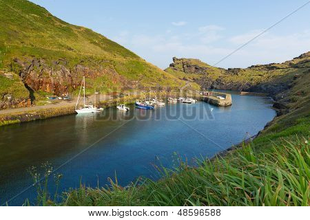 Boscastle harbour North Cornwall