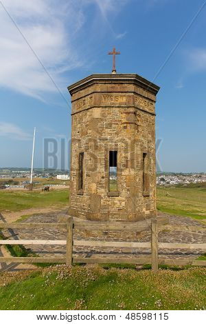 Bude tower above Compass Point North Cornwall