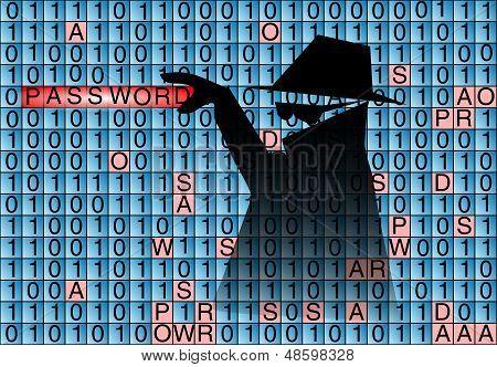 Spy Steals Pasword