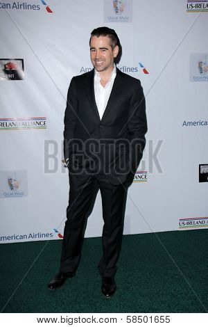 Colin Farrell at the US-Ireland Alliance Pre-Academy Awards Event, Bad Robot, Santa Monica, CA 02-21-13