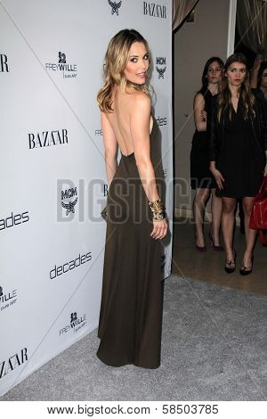 Leslie Bibb at Harper's Bazaar Celebrates The Launch Of The Dukes of Melrose, Sunset Tower, West Hollywood, CA 02-28-13
