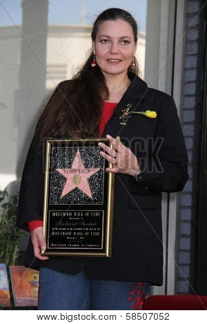 Maria Burton at the Richard Burton Posthumous Star On The Hollywood Wallk of Fame ceremony, Hollywood, CA 03-01-13