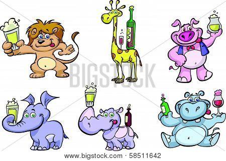 fun party animal set