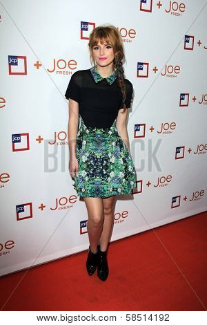 Bella Thorne at the introduction of Joe Fresh at JCP, Joe Fresh at JCP Pop Up Store, Los Angeles, CA 03-07-13