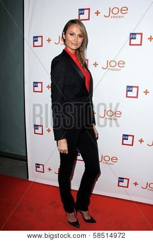 Stacy Keibler at the introduction of Joe Fresh at JCP, Joe Fresh at JCP Pop Up Store, Los Angeles, CA 03-07-13
