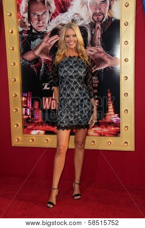Jessica McClain at the World Premiere of