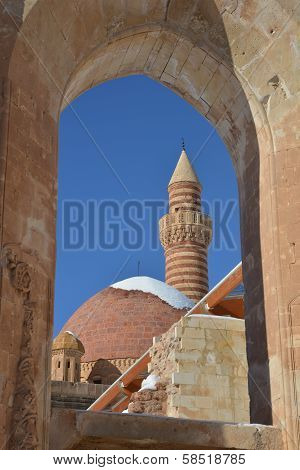Details Of Ancient Ishak Pasha Palace