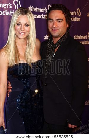 Kaley Cuoco, Johnny Galecki at the 21st Annual