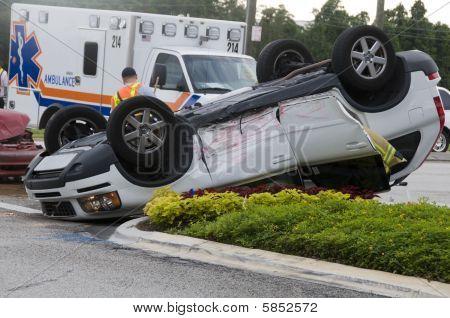 Fahrzeug-Unfall