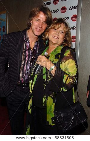HOLLYWOOD - AUGUST 01: Brenda Vaccaro and husband Guy Hector at the Los Angeles Premiere of