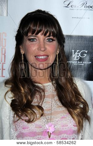 Sandra Vidal at the No Kill L.A. Charity Event, Fred Segal, West Hollywood, CA 04-02-13