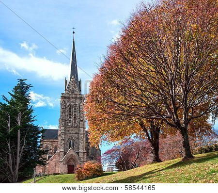 Cathedral Of The City Of Bariloche, Argentina