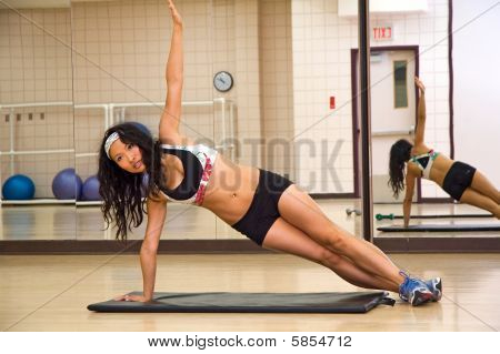 Side Plank - Abdominal Exercise