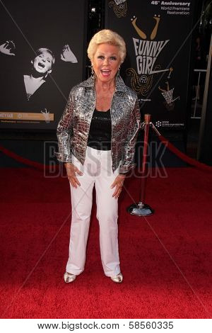 Mitzi Gaynor at the TCM Classic Film Festival Opening Night Red Carpet Funny Girl, Chinese Theater, Hollywood, CA 04-25-13