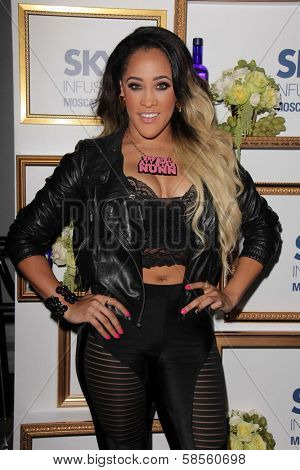 Natalie Nunn at the House Of Moscato Presented by Skyy Infusions Moscato Grape, Greystone Manor, Los Angeles, CA 04-24-13